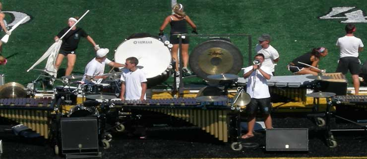 Blue Coats 2007 Drum Corps Marching Band- via Wikipedia