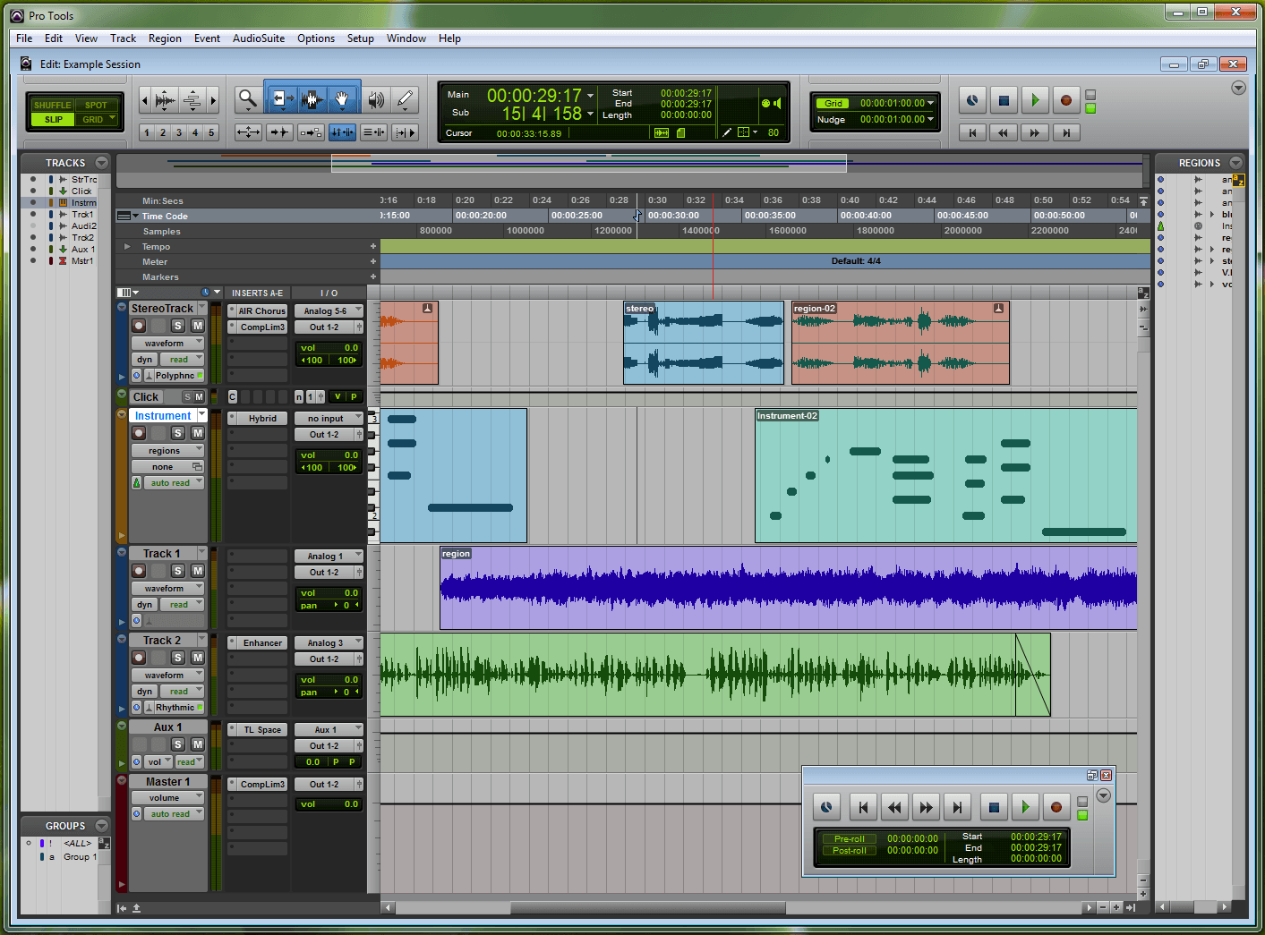Free Music Editor Screenshot- ProTools