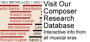 Interactive Composer Research Database