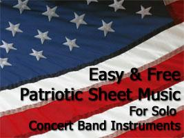 Free Patriotic Sheet Music Image