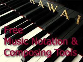 Free Music Composing and Notation Tools Image