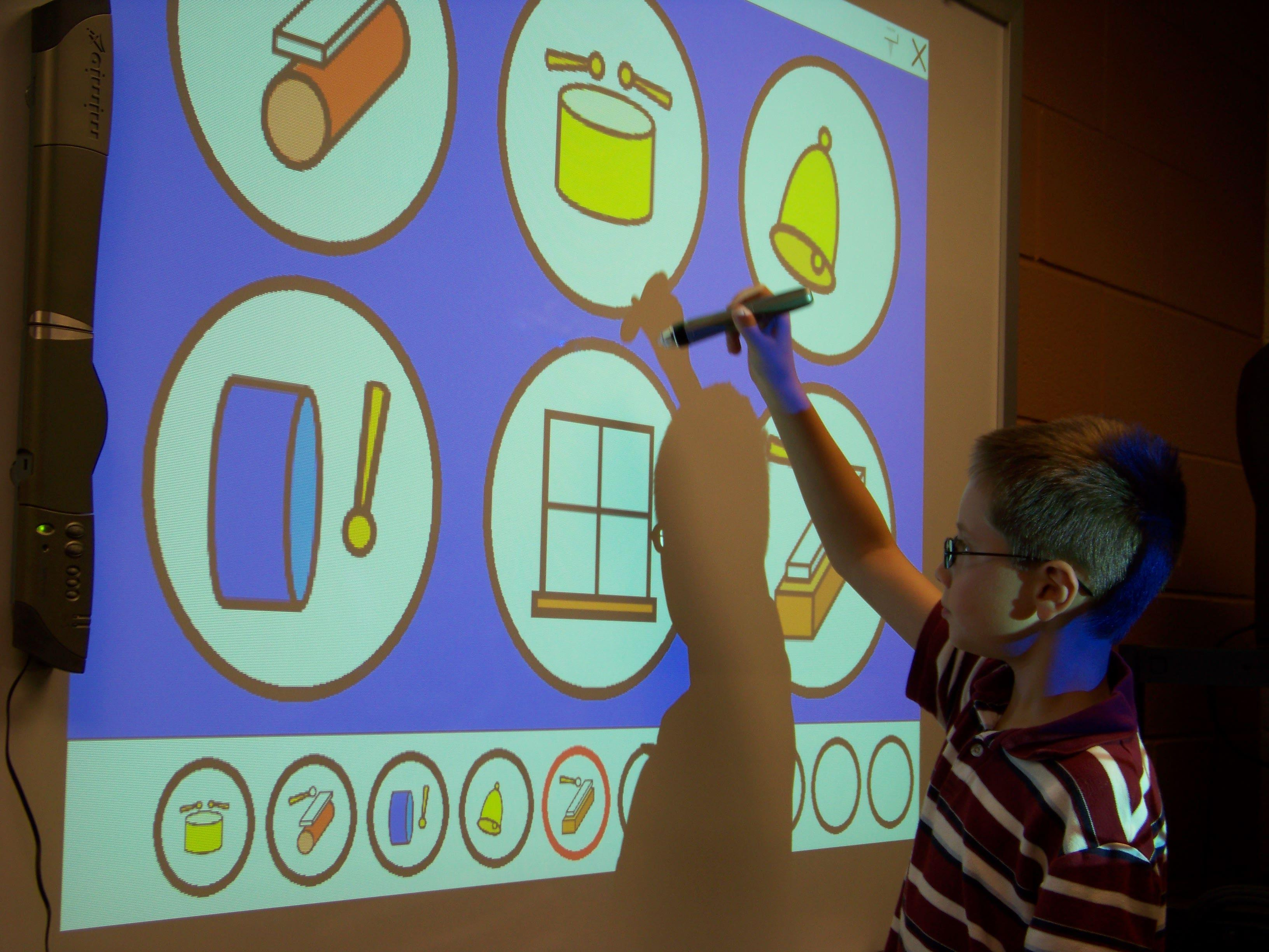 Using an interactive whiteboard in the music classroom