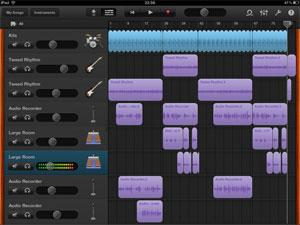 A GarageBand Project- Photo courtesy of JetPlaneJournal.com
