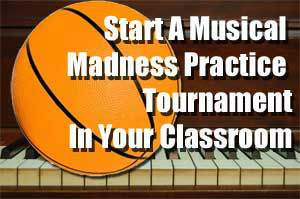 Tournament Style Practice Incentive for Music Ed Programs