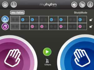 MyRhythm iPad App Screenshot