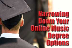 Online Music Degree Options