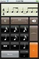 Rhythm Calculator App Screenshot