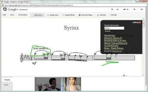MuseScore and Google+ Hangout Hack