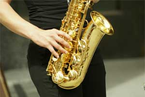 An Alto Saxophone Player
