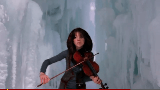 Lindsey Sterling Playing Dubstep Violin