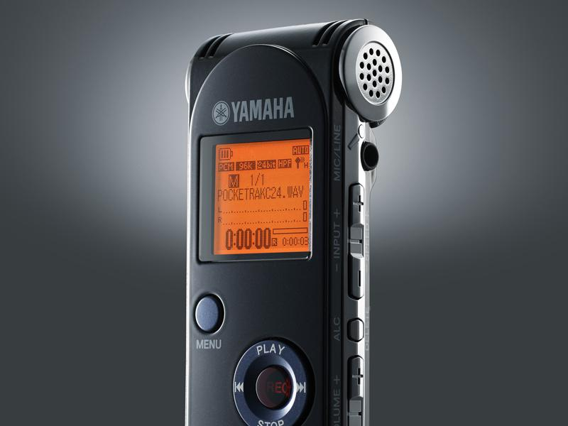 The Yamaha PockeTrak C24 Digital Audio Recorder