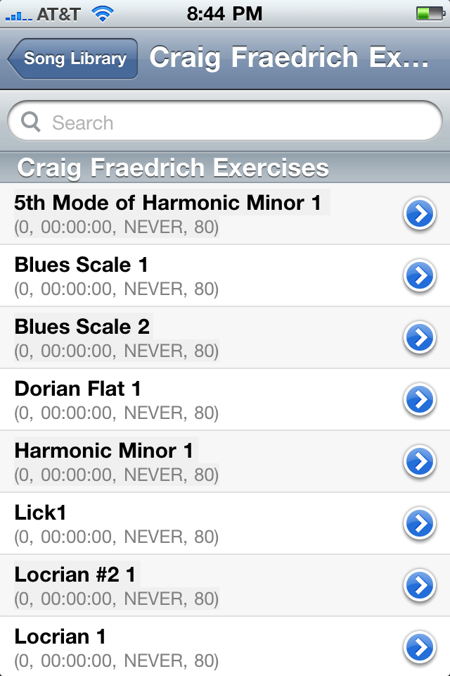 Trumpet pro app screen capture